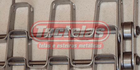 Esteira Teceflex com Correntes Laterais