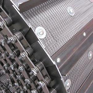 Fabricante de esteiras com abas laterais