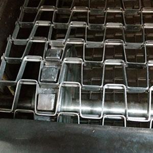 Fabricante de esteiras para separação de peças